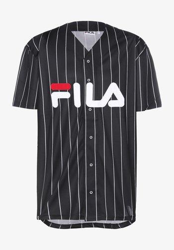 DAWN BASEBALL - Print T-shirt - black