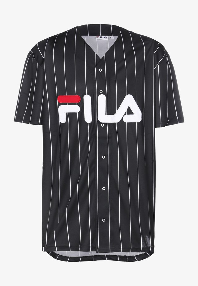 DAWN BASEBALL - T-shirt imprimé - black