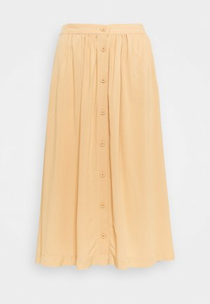 SC-RADIA 93 - A-line skirt - biscuit