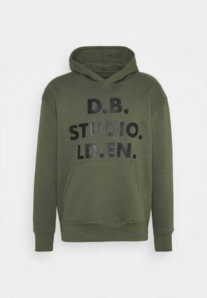 STUDIO HOOD UNISEX - Sweatshirt - khaki