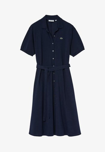 LACOSTE - DAMEN KLEID - Shirt dress - blue