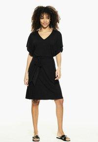 Garcia - Jersey dress - black - 1