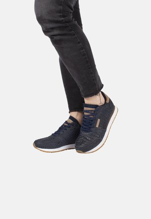 YDUN CROCO - Sneakers laag - dark blue
