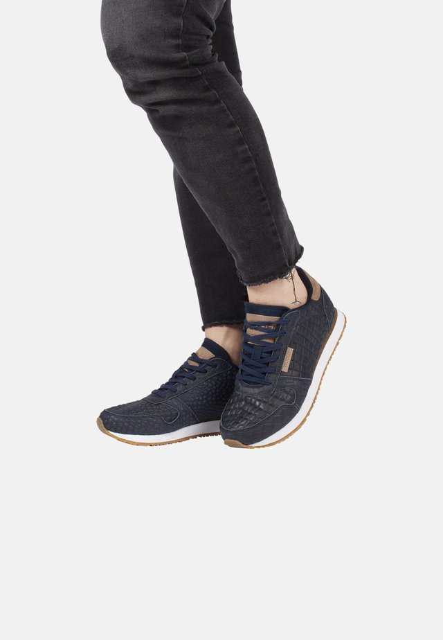 YDUN CROCO - Sneakers - dark blue