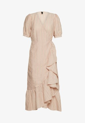 YASJULIE DRESS  - Day dress - star white/apricot