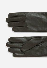 BOSS - GLOFE - Gloves - dark brown - 1