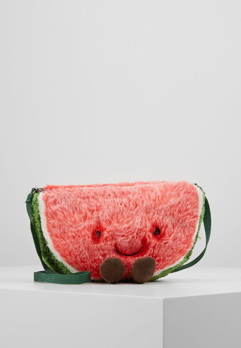 Jellycat - AMUSEABLE WATERMELON BAG - Taška spříčným popruhem - green