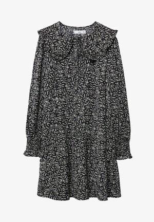 BEDRUCKTES BABYDOLL - Denní šaty - Zwart