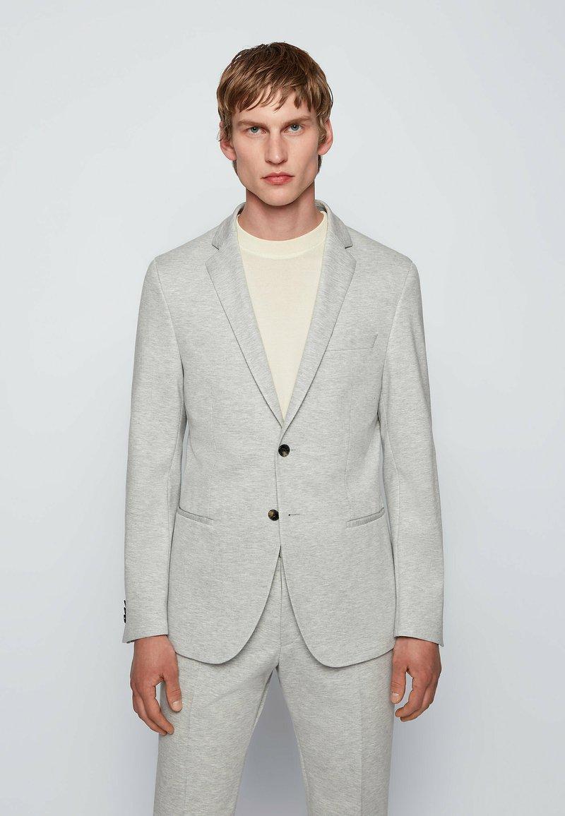 BOSS - Blazer jacket - silver