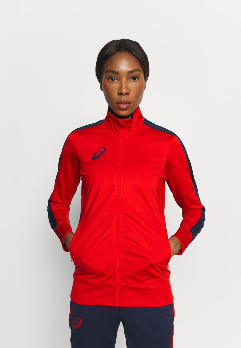 ASICS - WOMAN SUIT - Tracksuit - real red