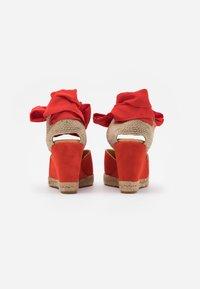 Unisa - CHUFY - Sandály na vysokém podpatku - corallo - 3