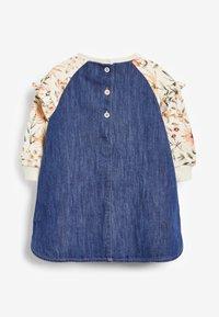 Next - FLORAL RAGLAN - Day dress - blue - 1