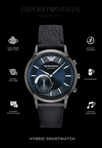 Emporio Armani Connected - Smartwatch - schwarz - 4