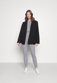 Miss Selfridge - BRUSHED ELASTIC - Sweatshirt - grey - 1