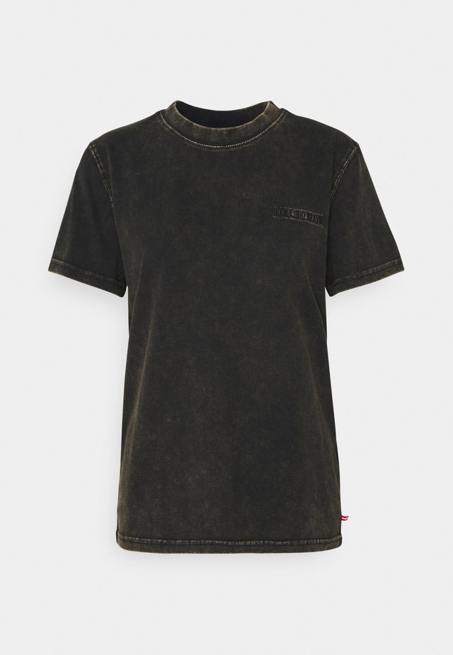CASUAL TEE - T-shirt basique - brown acid
