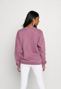 Missguided - WASHED - Sweatshirt - purple - 2