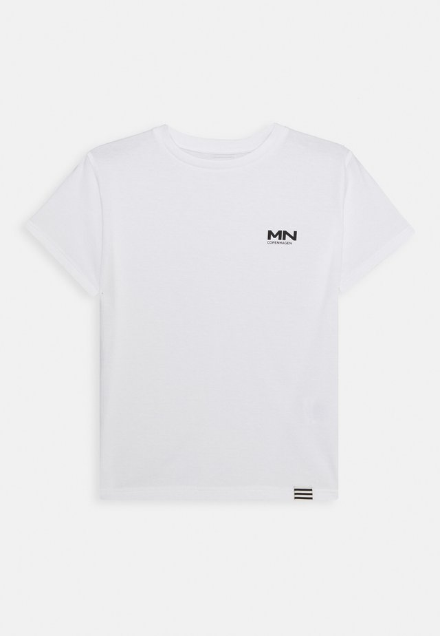 PRINTED TEE THORLINO - T-shirt basic - white