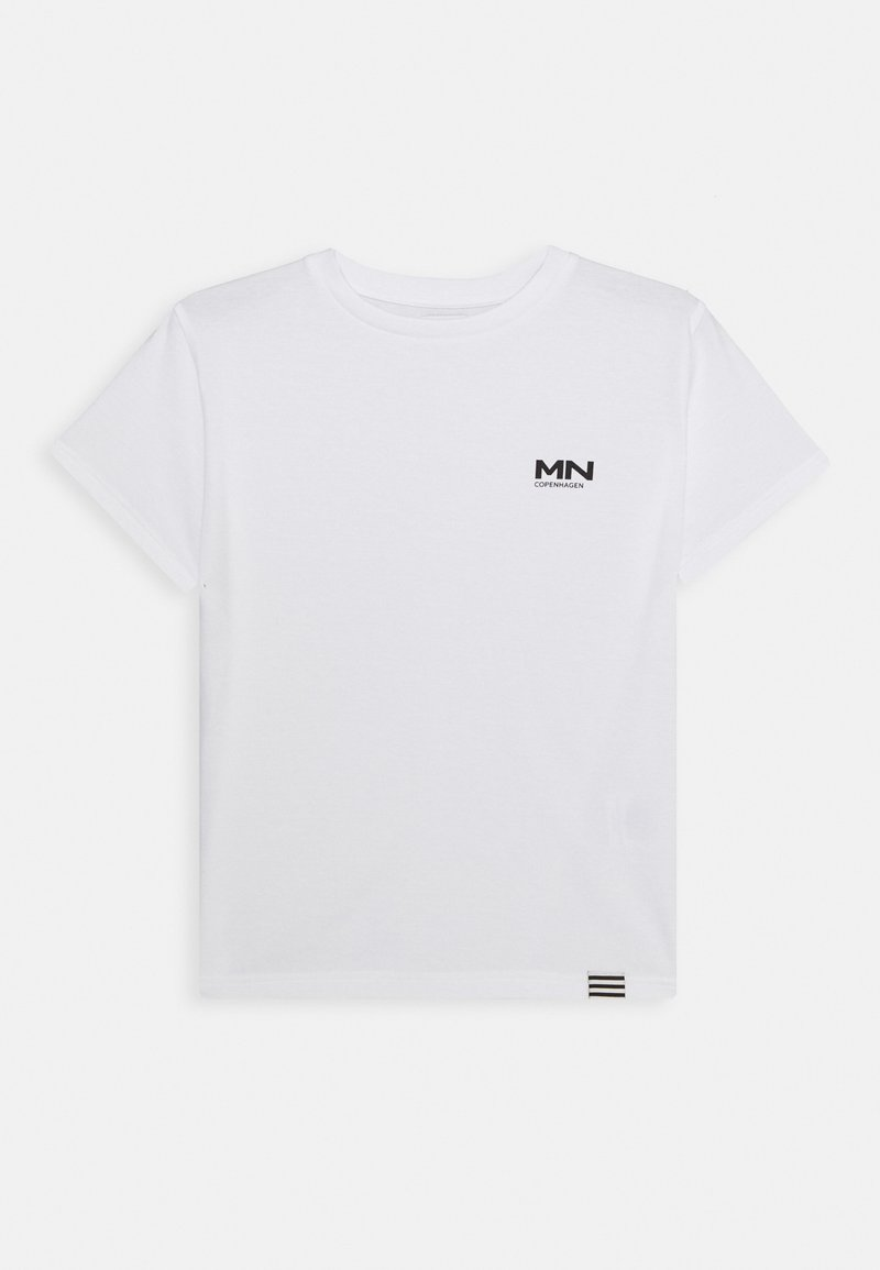 Mads Nørgaard - PRINTED TEE THORLINO - T-Shirt basic - white