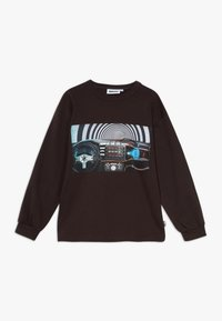 Molo - RIN - Long sleeved top - brown darkness - 0