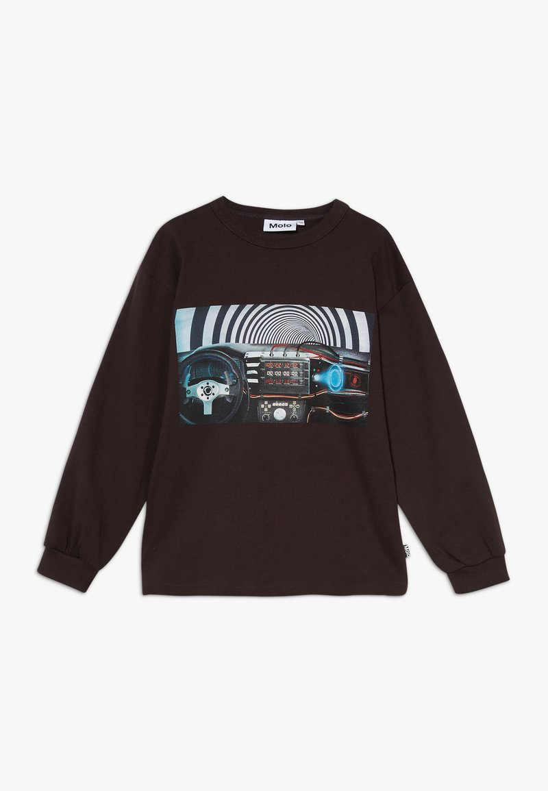 Molo - RIN - Long sleeved top - brown darkness
