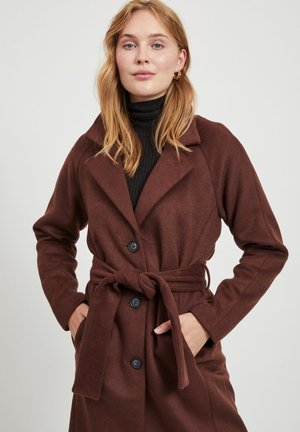 Classic coat - chicory coffee