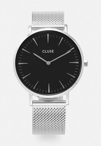 BOHO CHIC - Watch - silver-coloured/black