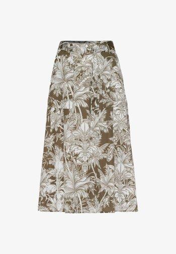 A-line skirt - khaki (44)