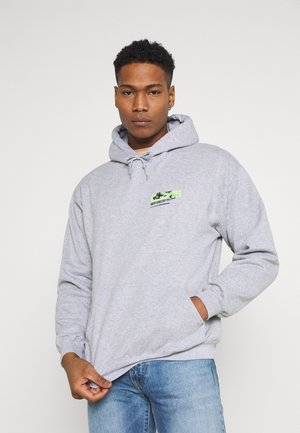 JAPAN OVERHEAD HOODIE - veste en sweat zippée - grey