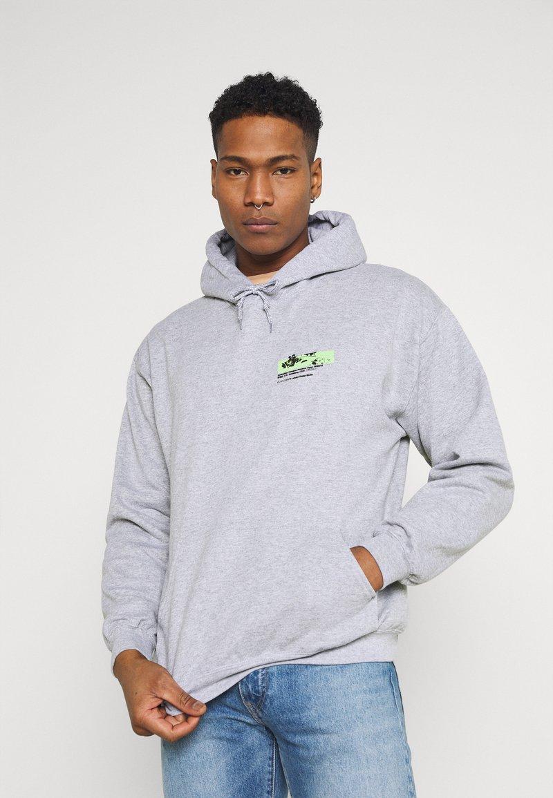 Mennace - JAPAN OVERHEAD HOODIE - Zip-up hoodie - grey