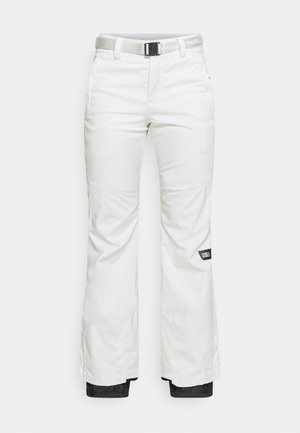 STAR SLIM PANTS - Snow pants - powder white