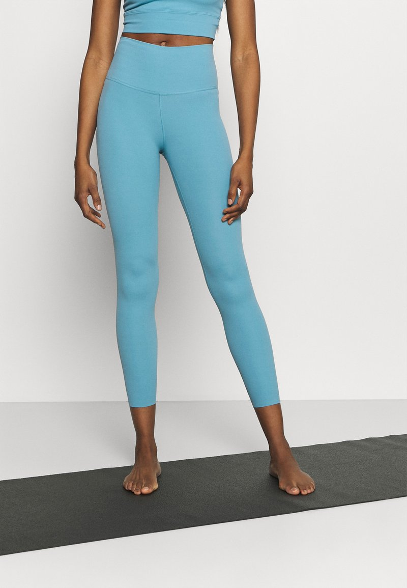 Nike Performance - THE YOGA LUXE 7/8 - Legging - cerulean/light armory blue