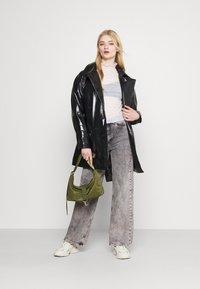 Weekday - JANIS SHORT JACKET - Short coat - black - 1