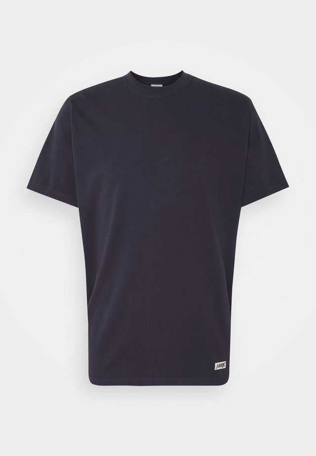 BOX LOGO TEE - T-shirt basic - maritime blue