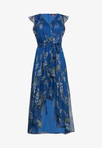 Vince Camuto Plus - RUFFLED WEEPING WILLOWS TIE WRAP - Hverdagskjoler - blue - 0