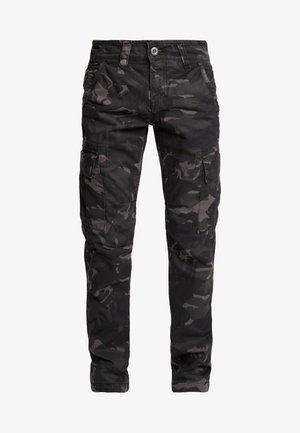 Cargobroek - black camo