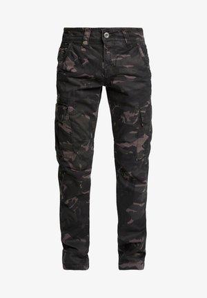 Pantalon cargo - black camo