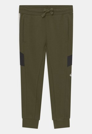 ELEVATED TRIMS - Teplákové kalhoty - rough green