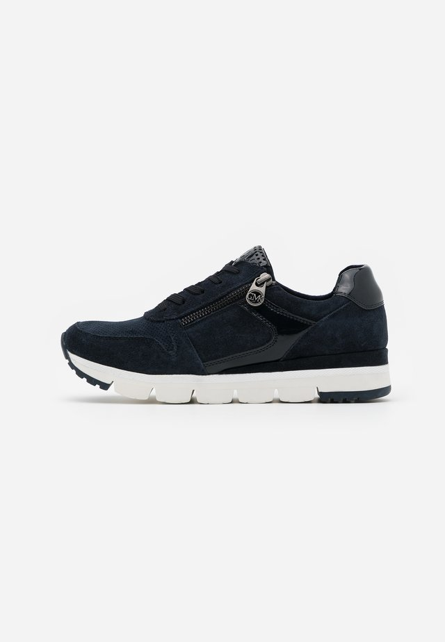 LACE-UP - Matalavartiset tennarit - navy