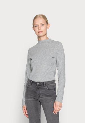 MOCK NECK - Top sdlouhým rukávem - medium grey