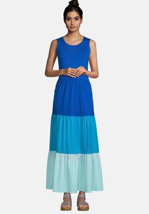 Maxi dress - classic cobalt colorblock