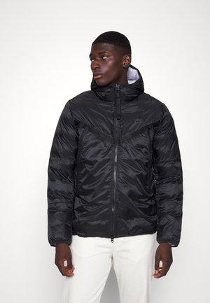 REVIVAL - Light jacket - black/dark smoke grey