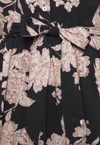 ONLY - ONLALMA LIFE DRESS - Vapaa-ajan mekko - black/vintage flower - 3
