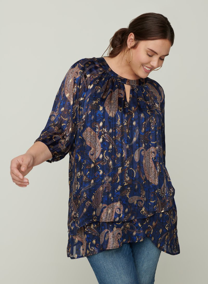 Zizzi - Blouse - dark blue