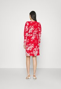 Vila - VITAGETES DRESS - Cocktail dress / Party dress - mars red - 2