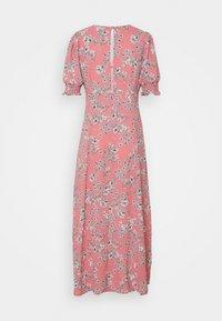 Glamorous Tall - PUFF SLEEVE PLUNGE FLARED DRESS - Maxi dress - peach - 1