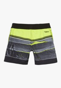 O'Neill - THE POINT - Swimming shorts - black/yellow - 1