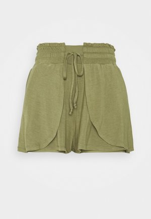 DOUBLE LAYER PETAL HEM SHORT - Sports shorts - oregano