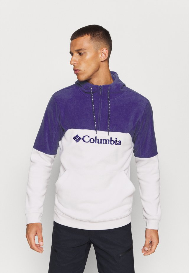 LODGEII HOODIE - Sweat à capuche - nimbus grey heather/purple quartz