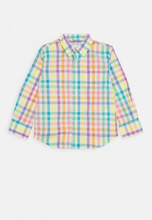 GINGHAM - Shirt - ivory rainbow