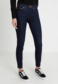 J.CREW TALL - TOOTHPICK - Slim fit jeans - dark blue - 0